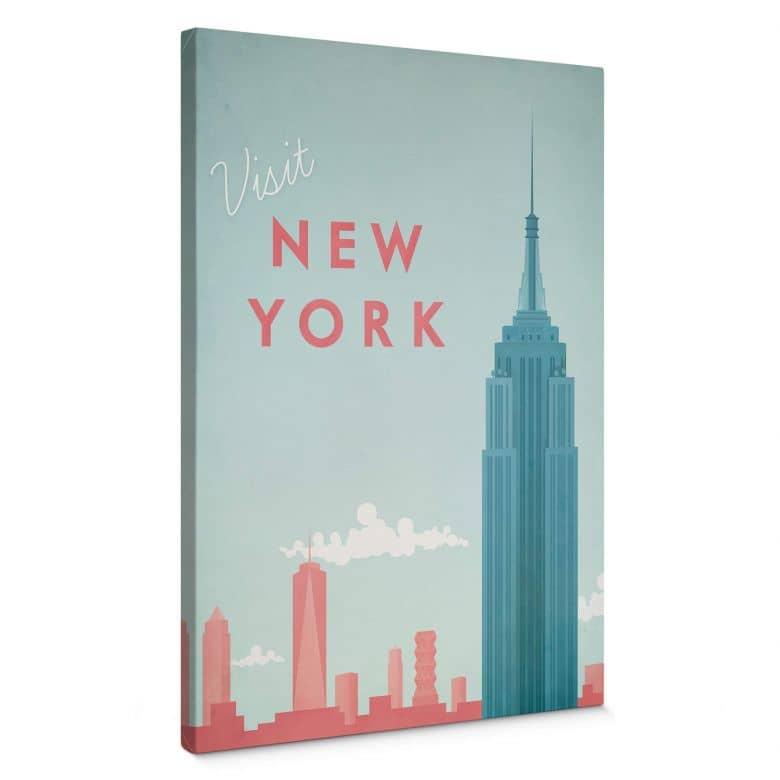 Leinwandbild Rivers - New York