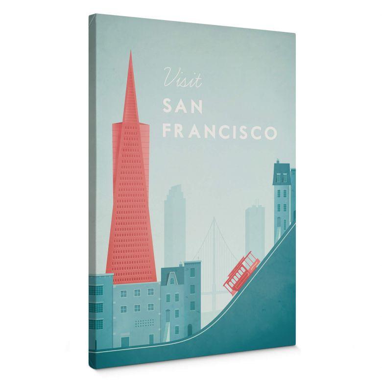 Leinwandbild Rivers - San Francisco