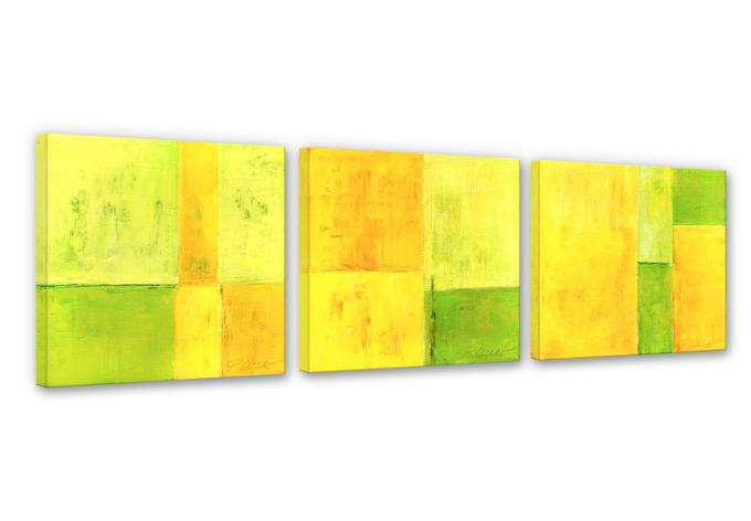 Leinwandbild Schüßler - Spring Composition (3-teilig)