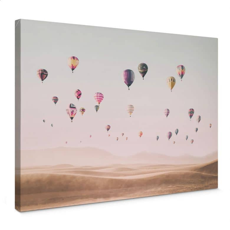 Canvas Print Sisi & Seb - Hot Air Balloons