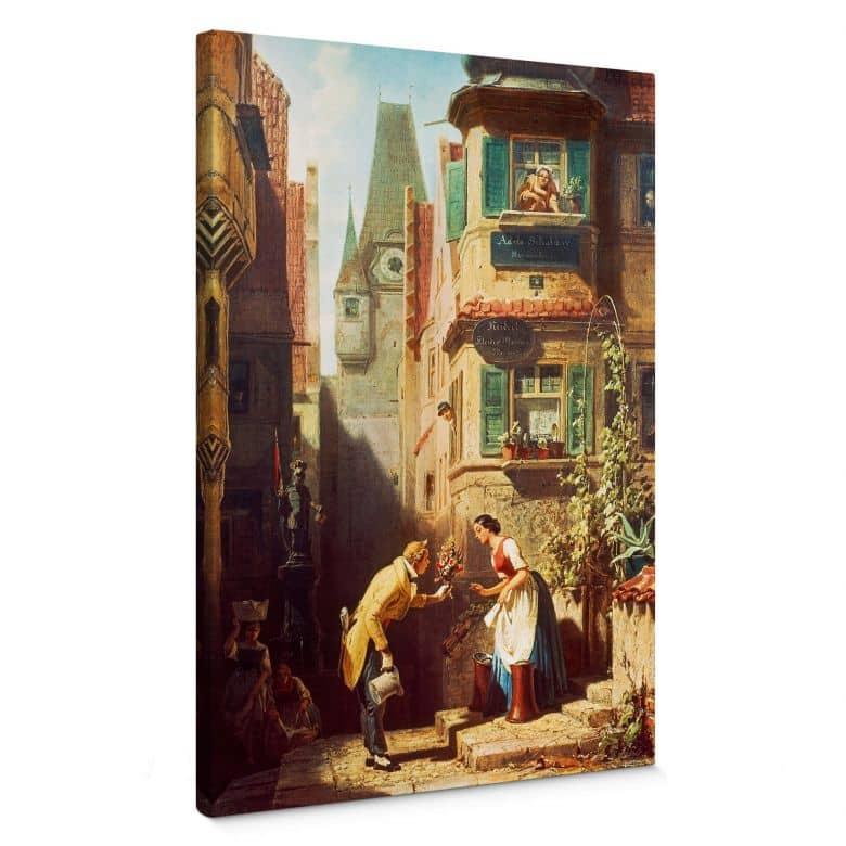 Tableau sur toile Spitzweg - Le marié éternel
