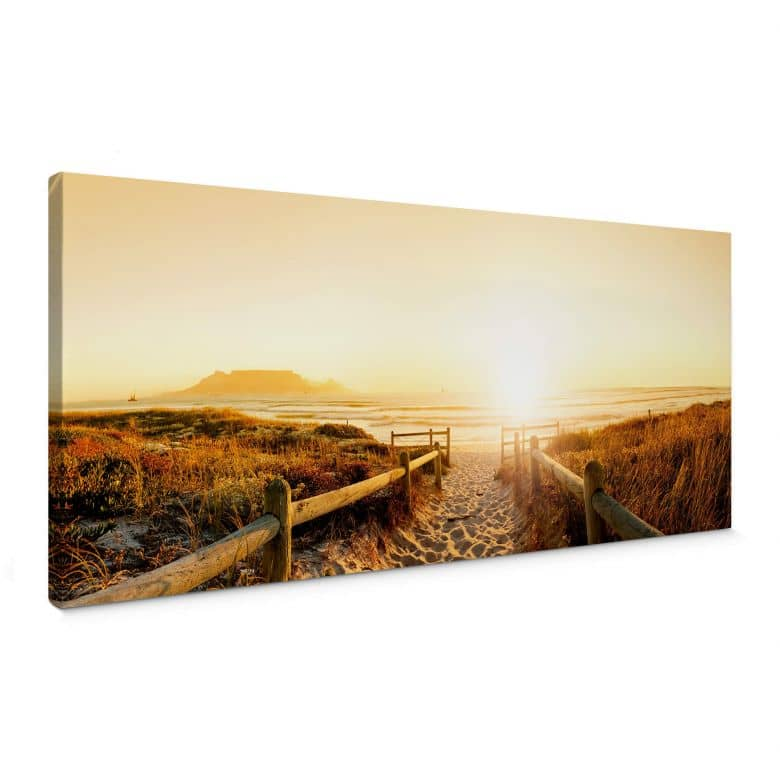 Leinwandbild Sunset at the Beach