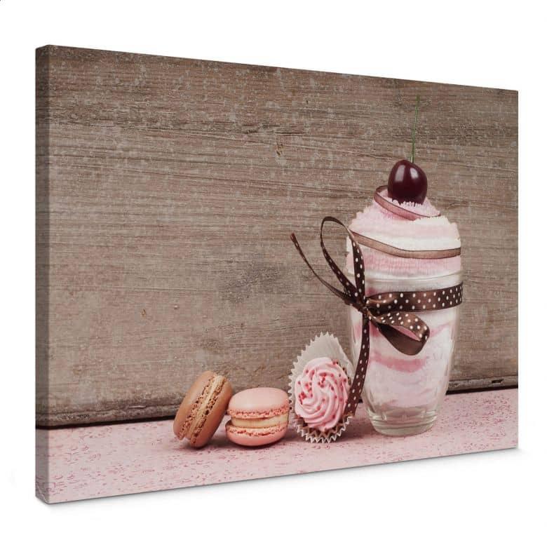 Leinwandbild Sweet Dessert