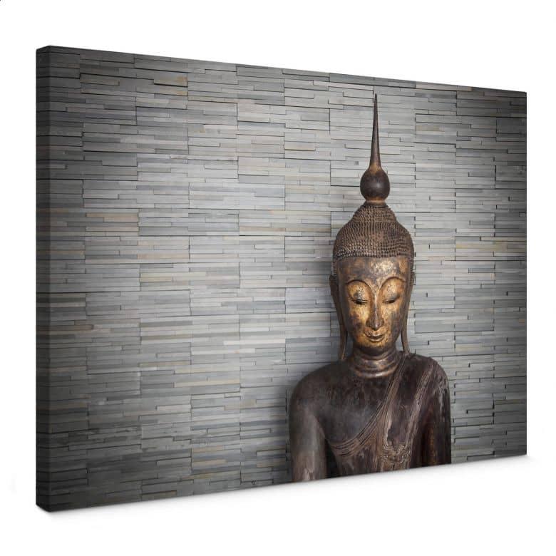 Canvas Thailand Boeddha