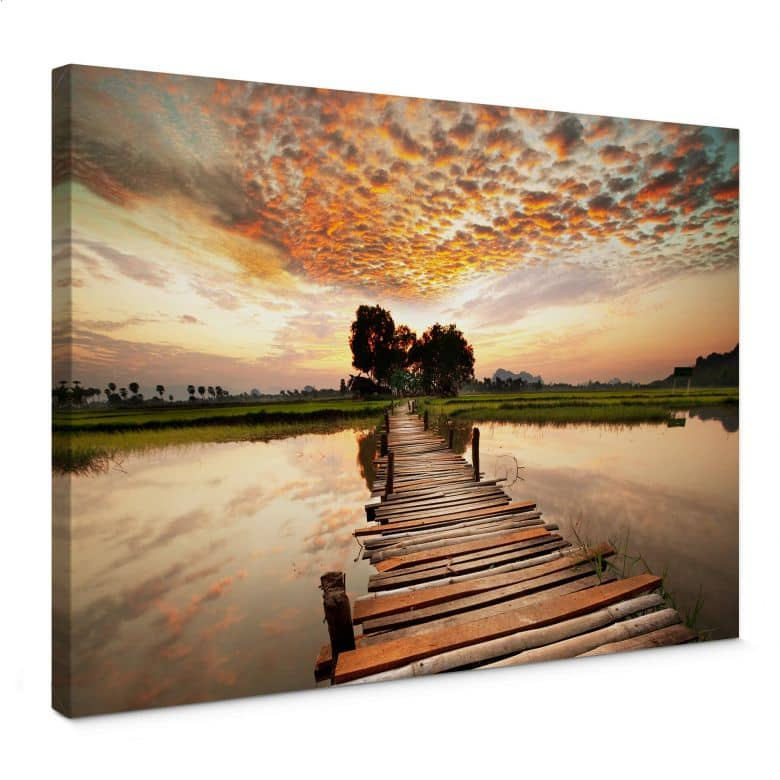 To the other side Canvas print
