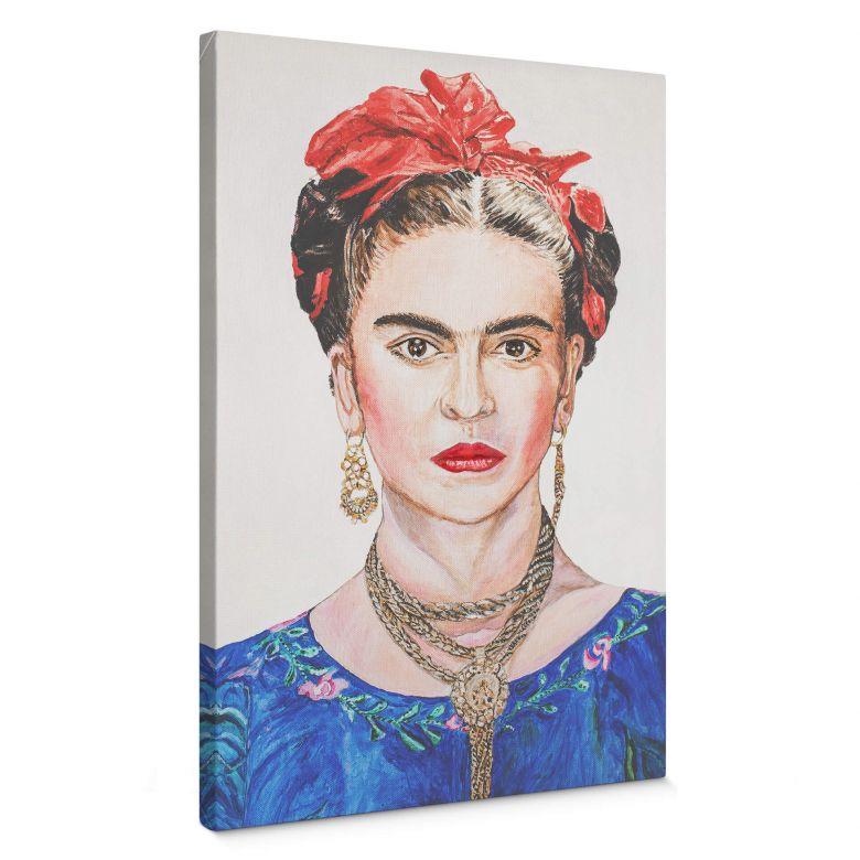 Leinwandbild Toetzke - Frida Kahlo