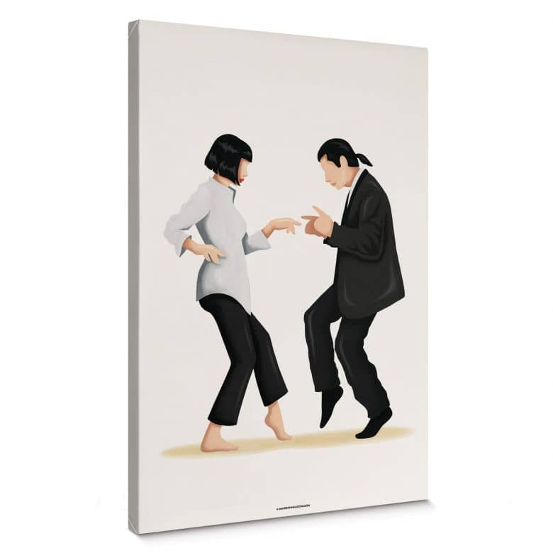 Canvas print Tohmé - Pulp Fiction
