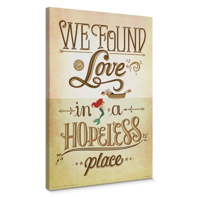 Leinwandbild Tohmé - We found Love