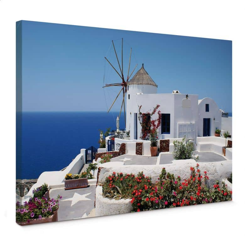 Leinwandbild Urlaub in Griechenland