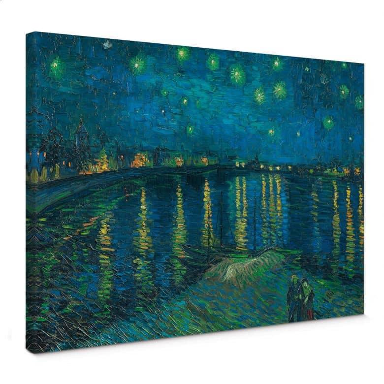 Vincent van Gogh - Starry Night 1888 Canvas print