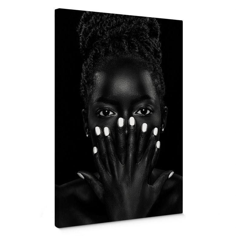 Leinwandbild Wuttke - Black and White 02