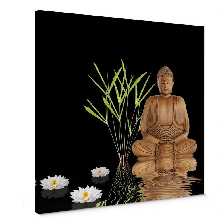 Leinwandbild Zen Buddha