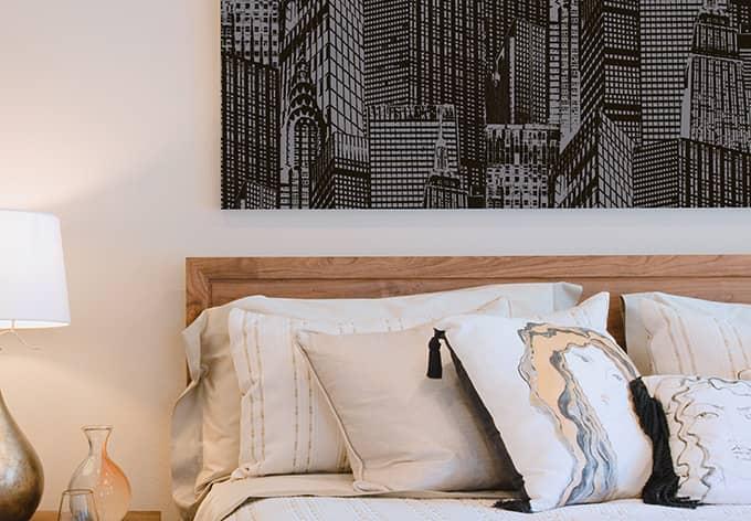 Panneau déco Livingwalls pop.up Panel 3D métallique, noir