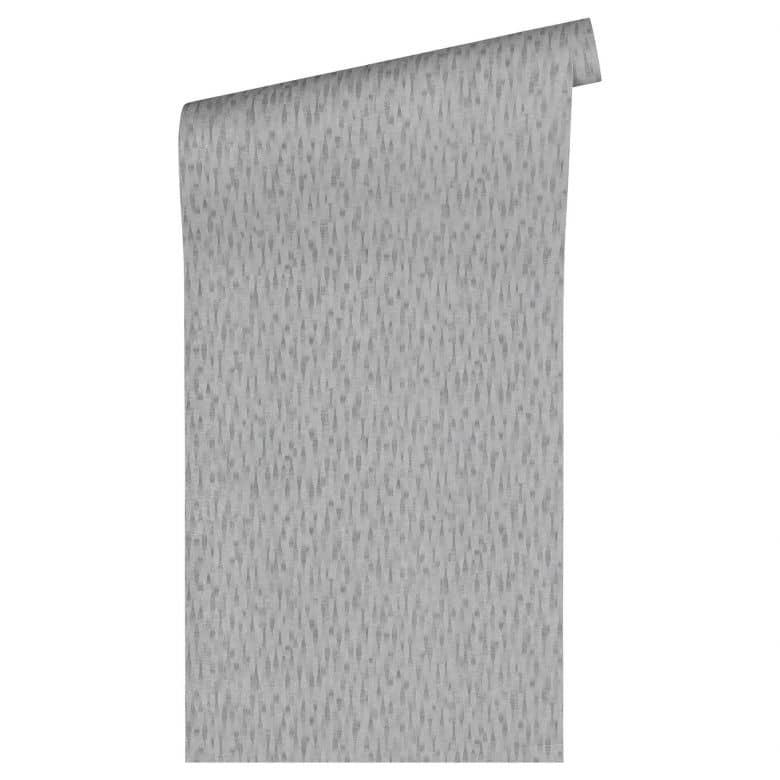 Livingwalls Tapete Titanium 2 grau,metallic
