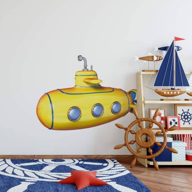 Michel Agullo - Submarine - Wall Sticker