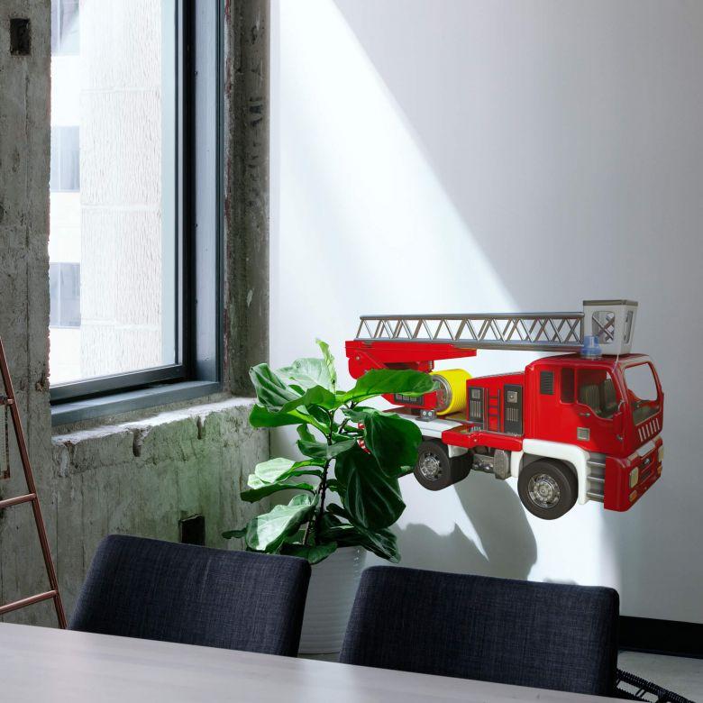 Wandtattoo Michel Agullo - Feuerwehrwagen