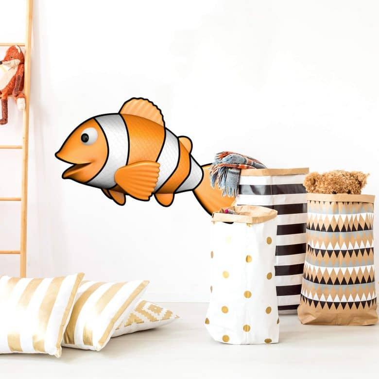 Wandtattoo  Agullo - Clownfisch Nemo