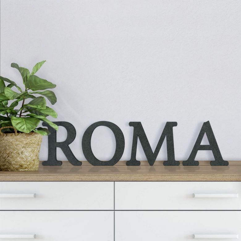 Scritta in MDF - Roma