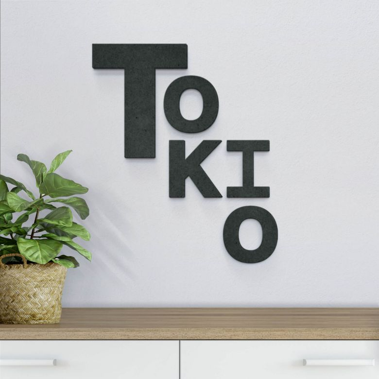Lettere in MDF - Tokio