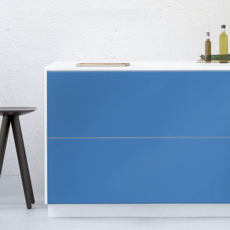 Möbelfolie - Uni Azurblau