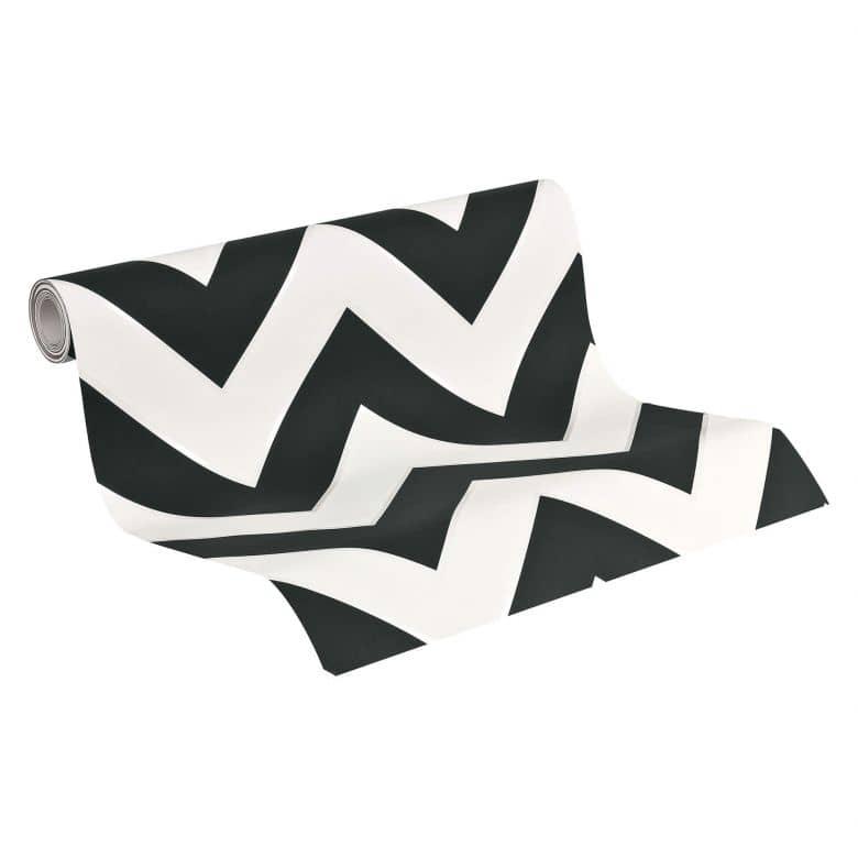 Michalsky Living Vliestapete High Rise geometrische Tapete schwarz, weiß