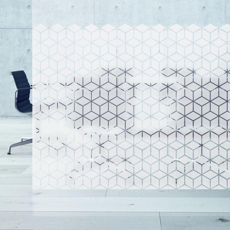Pellicola vetro - Cubi