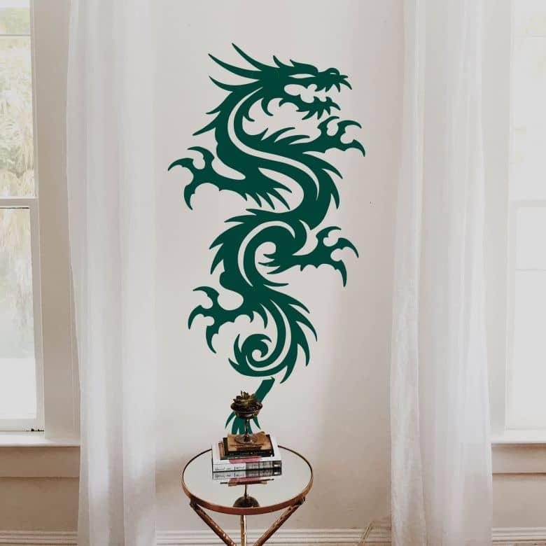 Sticker mural - Miami Ink - Dragon chinois