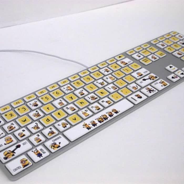Tastatur Sticker - Minions