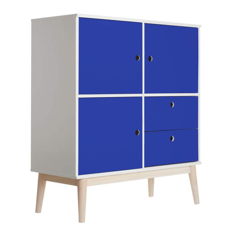 Möbelfolie - Uni Brillantblau