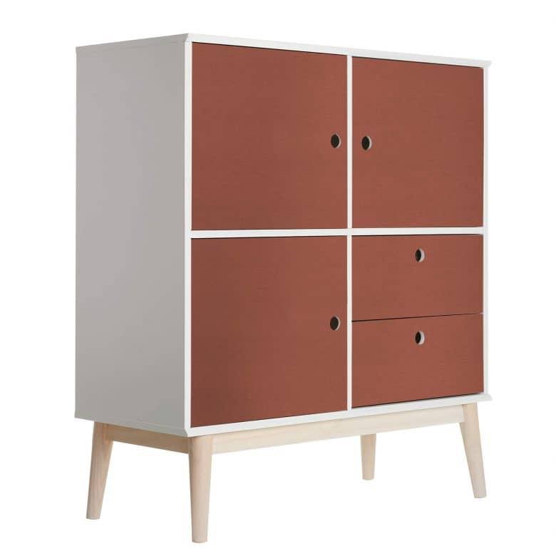 Möbelfolie - Uni Kupfer