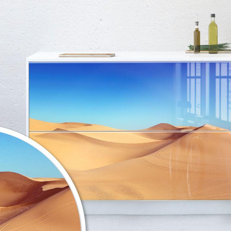 Möbelfolie, Dekofolie - abwischbar - Wüstensand
