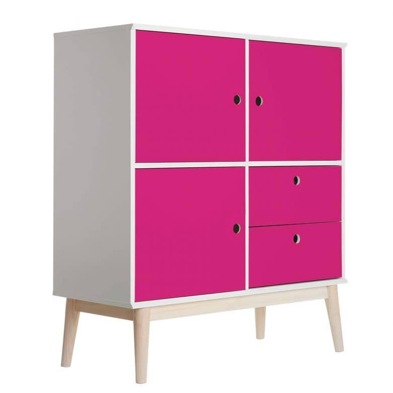Möbelfolie - Uni Pink