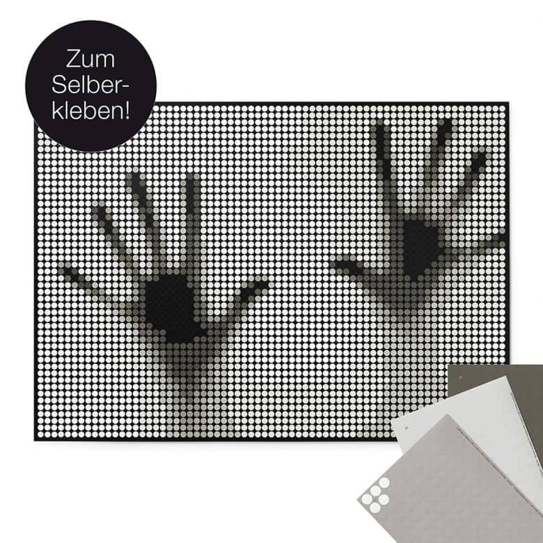 Dot-On Klebeposter XL - Hands 50x70 cm