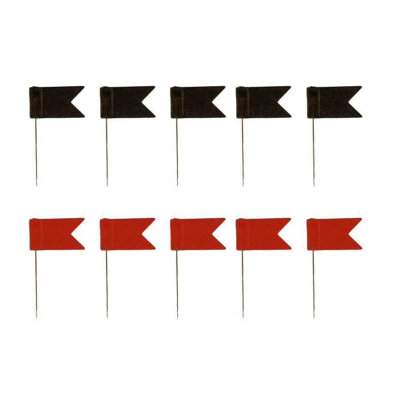 Flag Push-pins (Set of 5)