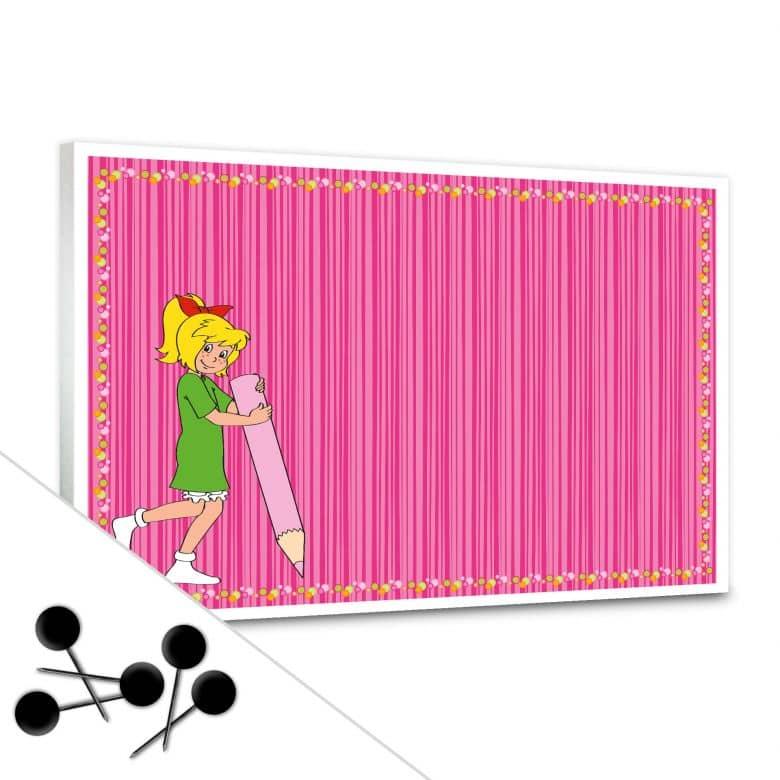 Bibi Blocksberg - Colouring Bibi Bulletin Board