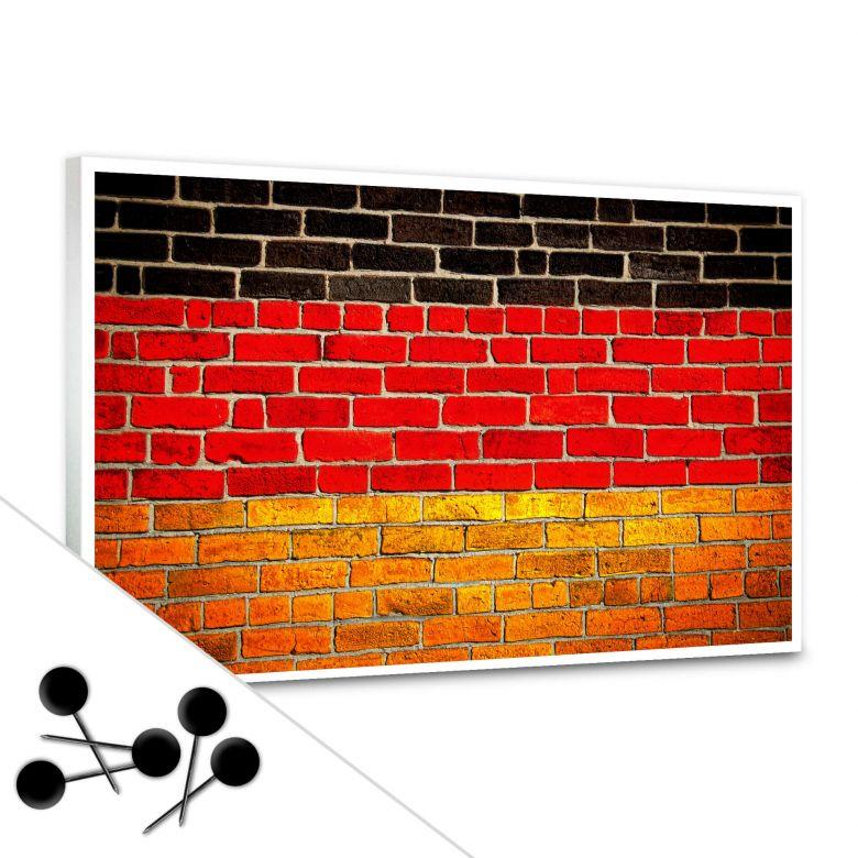 German Flag Bulletin Board