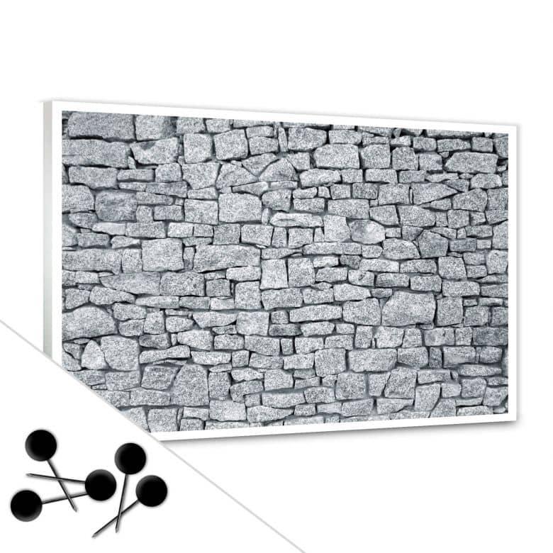 Granite Wall Bulletin Board
