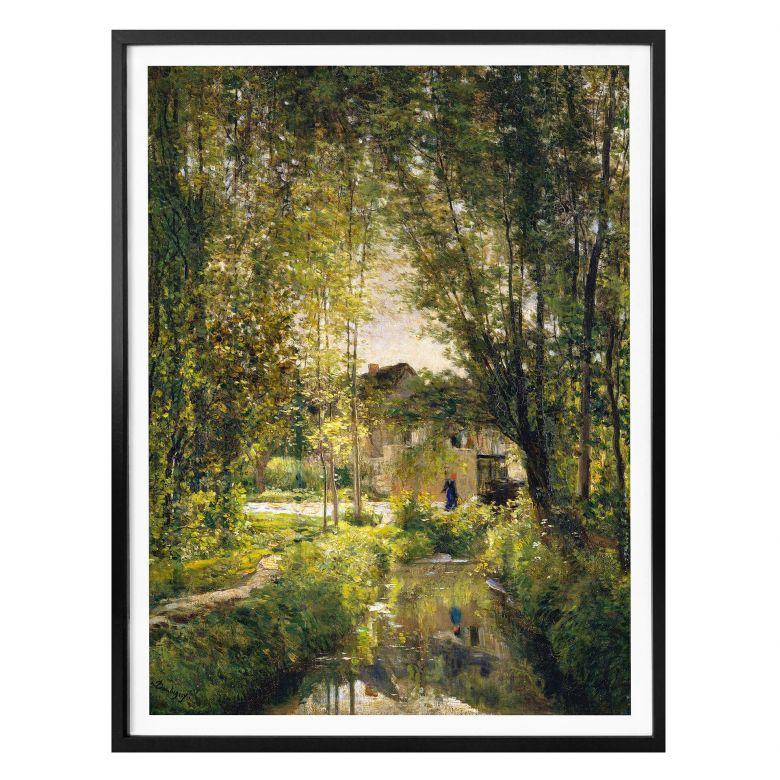 Poster Daubigny - Landscape