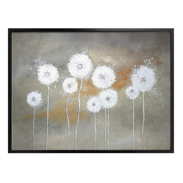 Poster Melz - Weiße Pusteblumen