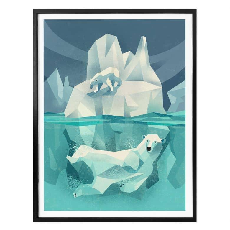 Poster Braun - Ijsberen