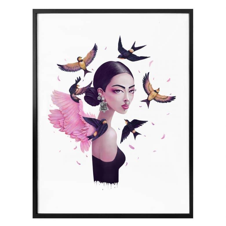Poster Korenkova - Boho Girl 1