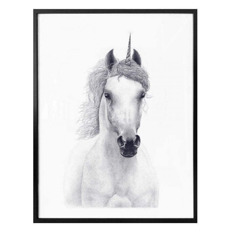 Poster Korenkova - White Unicorn