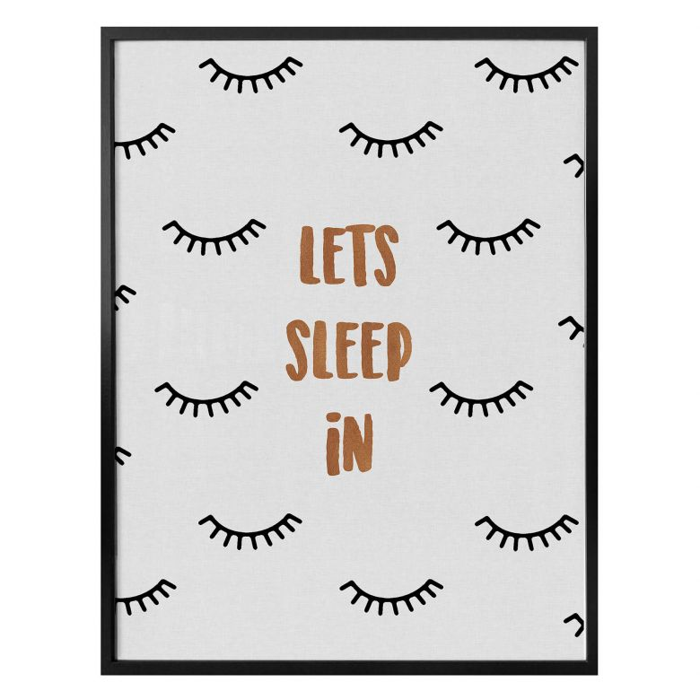 Poster Orara Studio - Let's Sleep In