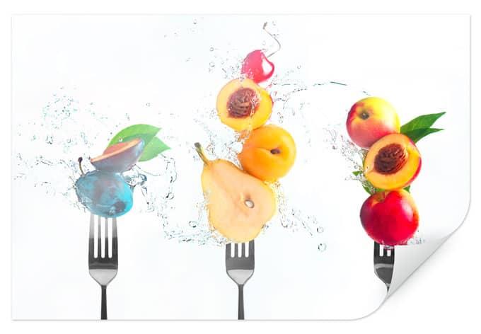 Poster Belenko - Splashing Fruits