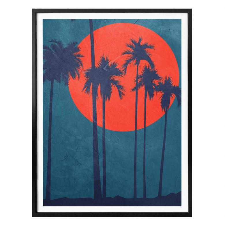 Poster Kubistika - Côte d'Azur