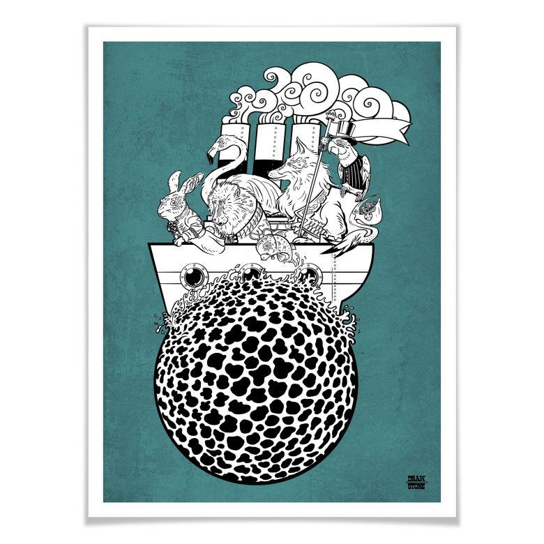 Poster Drawstore - Boattrip
