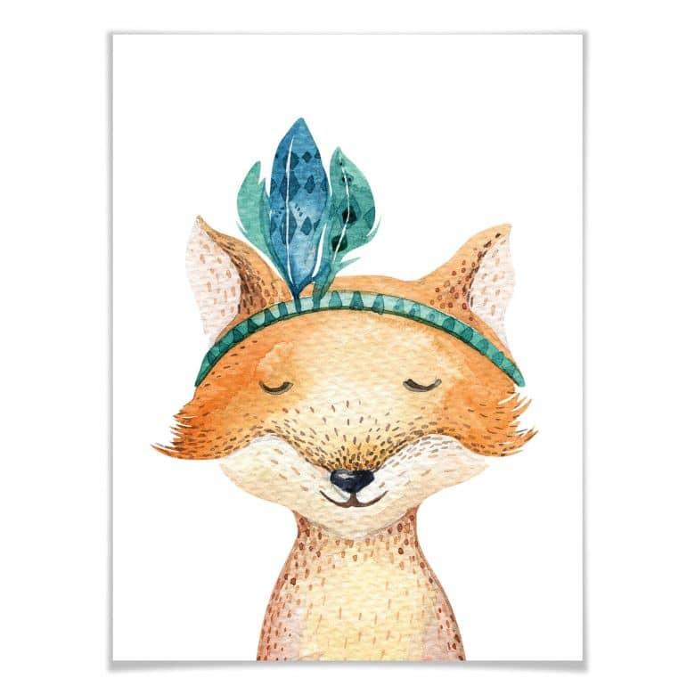 Poster Kvilis - Hippie Fuchs