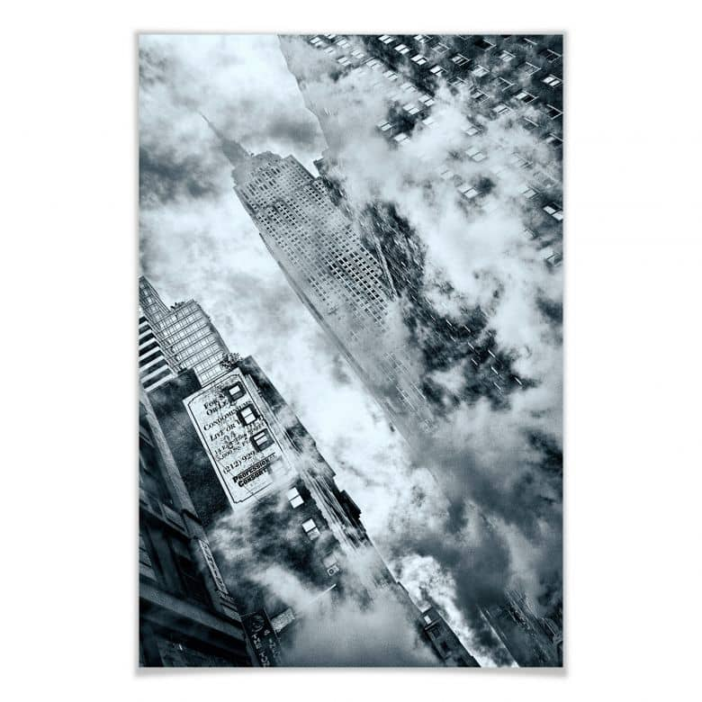 Poster Bravin - Die Straßen von NYC | wall-art.de