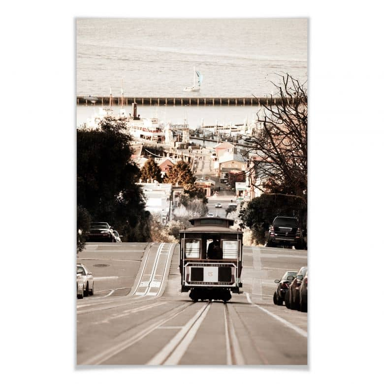 Poster - Cable Cars