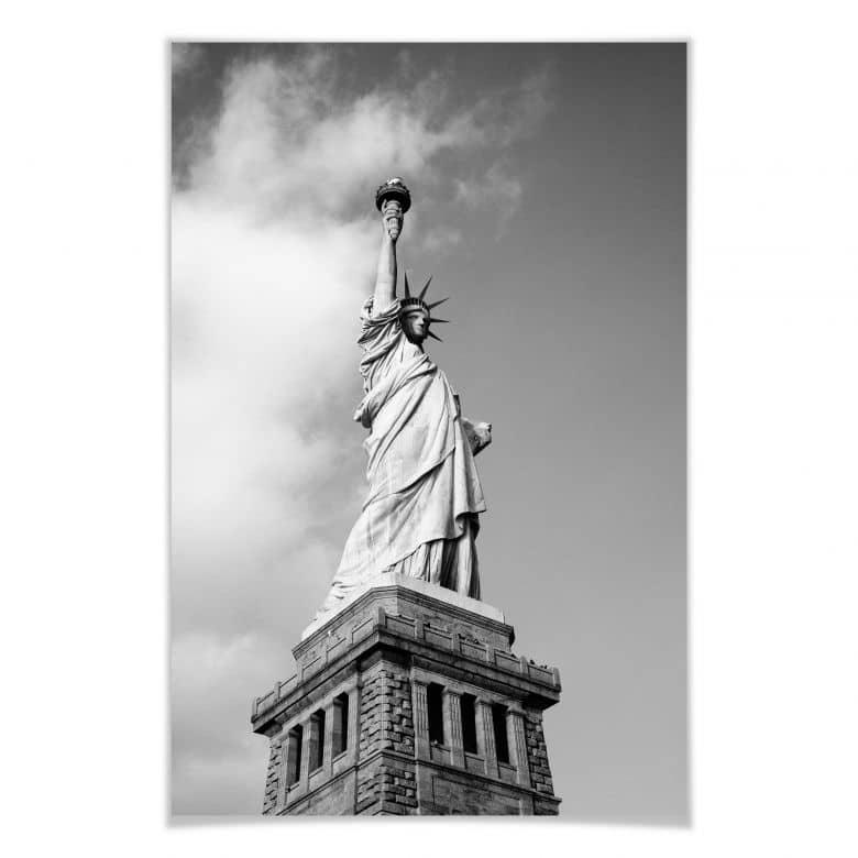 Poster Lady Liberty